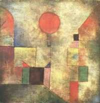 Paul Klee, Red Balloon, 1922.