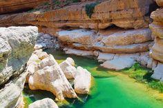 Die beiden Wadis Shab und Tiwi gehören ohne Zweifel zu den schönsten Wadis im Oman.