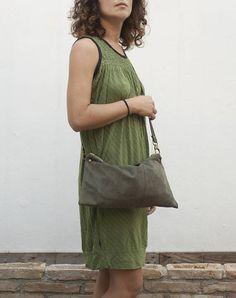 Minimal Leather Handbag Minimal crossbody bag Minimal Purse