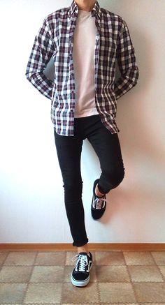 vans old skool black skinny jeans boys guys outfit   vans love #vans #vansoldskool #skinnyjeansboys
