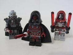 MADE OF GENUINE LEGO PARTS LEGO STAR WARS SITH JEDI DARTH REVAN MINIFIGURE