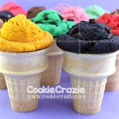 Ice Cream Scoop Sugar Cookies