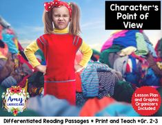 Character's Point of View - This unit will save you a ton of planning time and allow your students to have an engaging learning experience. All you have to do is print and teach. No need to hunt for reading material that aligns with standards. Included:Differentiated Passages (1 story with 3 levels)Lesson SuggestionsStudent AnchorsGraphic OrganizersVoice Cards (for speaking in different character voicesConnect with Amy LabrascianoBe sure to follow my TpT store by clicking on the red Follow…