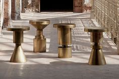 Karlin Chess Stools — Atelier Courbet