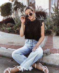 Cute & Easy Summer Look | ALL THINGS GIRLY! | Simple ...