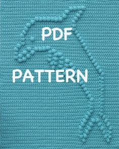 Dolphin Baby Blanket Pattern Crochet Pattern  by TheBabyCrow