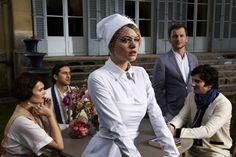 white house dress/ nurse dress