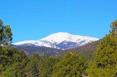 Ski Apache...view from Inn of the Mountain Gods. Mescalero, NM