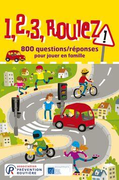 1,2,3, roulez ! Un jeu de la Prévention routière pour jouer en famille et réalisé par les éditions spéciales Play Bac - www.playbac-editions-speciales.fr