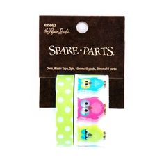 the Paper Studio Owls & Polka Dots Washi Tape | Shop Hobby Lobby