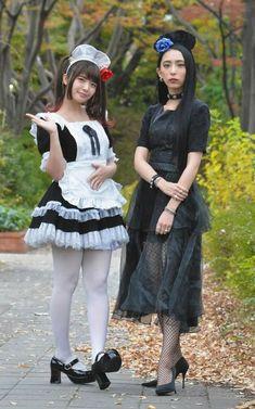 Japanese Girl Band, Girl Actors, Maid Uniform, Female Guitarist, Girl Bands, Rock Bands, Heavy Metal, Cosplay, Ikon