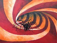 "Saatchi Online Artist Eka Peradze; Painting, ""I will always continue to build.make your best offer. 80x60cm. "" #art"