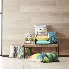 Freedom Furniture NZ #colourfiesta scatter cushion collection