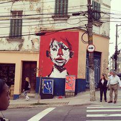 "@jonsuguiyama's photo: ""#graffiti #streetart #ilivesp #shn #urban"" Sao Paulo"