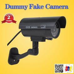 SecuVision Fake camera Dummy Emulational camera cctv camera bullet waterproof outdoor use for home security with flash LED Round Led Ceiling Light, Led Ceiling Lights, Cctv Security Systems, Pop Up Tent, Bullet, Outdoor, Outdoors, Outdoor Games, The Great Outdoors