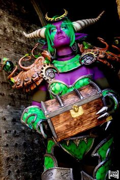 Ysera from World of Warcraft - cosplay