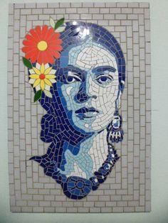 #Frida #mosaics  #Art