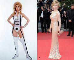 Jane Fonda - Kibbe verified Soft Natural - Yang with a Yin undercurrent