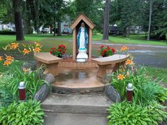 The Mary Grotto At Camp Chesterfield One Of My Favorite Meditation Spots