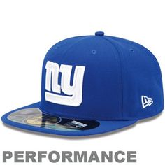 New Era New York Giants On-Field Performance 59FIFTY Fitted Hat - Royal  Blue   29e62f24ae26