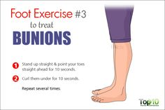 bunion foot exercise