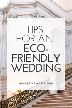 "Say ""I do"" to sustainability and prioritize eco-friendly choices for your big day. Repurpose bridesmaid dresses from a past event or even choose a venue to host your wedding ceremony that practices sustainability."