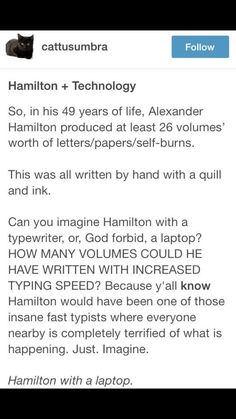 social-media-stra... HAMILTON WROTE THE OTHER 51! How many could he have written...