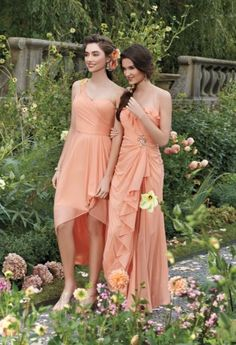This color looks beautiful on these girls with dark hair. So pretty!