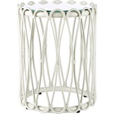 Dot & Bo Tahitian Side Table (590 AUD) ❤ liked on Polyvore featuring home, furniture, tables, accent tables, rattan side table, rattan end table, rattan table and rattan furniture