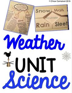 Weather Unit: Weather tools, clouds, climate zones, types of precipitation! 5th Grade Unit!