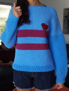 Undertale Inspired Sweater (crochet) - Imgur