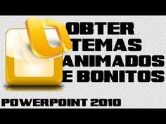 Como Usar Temas Alternativos e Animações no PowerPoint (2010 ou 2007)