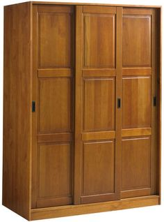 Wardrobe - 3 Sliding Doors Honey Pine by Palace Imports 836a60b39e