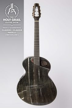 Exhibitor at The Holy Grail Guitar Show 2014: Claudio + Claudia Pagelli, Pagelli Gitarrenbau, Switzerland http://www.pagelli.com https://www.facebook.com/pagelliguitars http://holygrailguitarshow.com