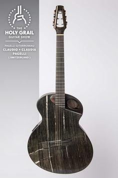 Exhibitor at The Holy Grail Guitar Show 2014: Claudio + Claudia Pagelli, Pagelli Gitarrenbau, Switzerland  http://www.pagelli.com https://www.facebook.com/pagelliguitars http://holygrailguitarshow.com