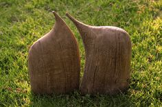 AFFECTION, oak, height 37 cm / NÁKLONNOST, dub, výška 37 cm / Viva wood art