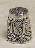 Beautiful Sterling Silver Thimble from Israel New 1 | eBay