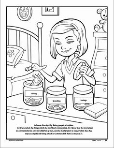 Lds Tithing Coloring Pages Printable Primary Activities, Primary Lessons, Fhe Lessons, Activity Day Girls, Activity Days, Activity Sheets, Power Rangers Coloring Pages, Lds Coloring Pages, Printable Coloring