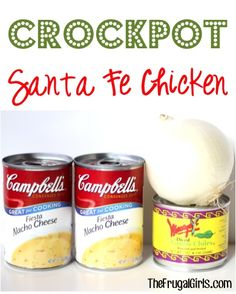 Crock Pot Santa Fe Chicken Recipe!