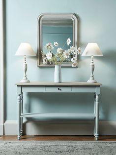 Toulon Console Table – Light Grey - All About Decoration Gray Console Table, Hallway Console, Modern Console Tables, Modern Table, Luxury Home Furniture, Living Room Furniture, Wooden Furniture, Antique Furniture, Entrance Table