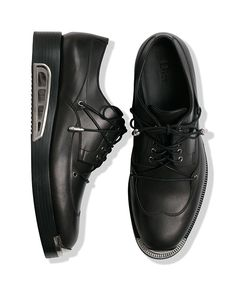 TO DIE FOR: BLACK DERBY SHOES BY DIOR