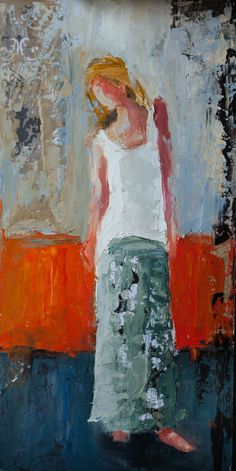 View Shelby McQuilkin's Artwork on Saatchi Art. Find art for sale at great prices from artists including Paintings, Photography, Sculpture, and Prints by Top Emerging Artists like Shelby McQuilkin. Abstract Portrait, Oil Painting Abstract, Figure Painting, Abstract Art, Orange Painting, Painting Tips, Colorful Paintings, People Art, Figurative Art