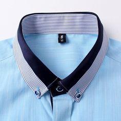 Hombres de la marca famosa camisetas 2015 a rayas de manga corta para hombre Slim Fit algodón, lino camisa masculina vestidos Boutique 4XL