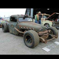 Best Ideas for custom cars rat rods pickup trucks Rat Rod Trucks, Rat Rod Pickup, Rat Rod Cars, Cool Trucks, Big Trucks, Chevy Trucks, Pickup Trucks, Cool Cars, Diesel Trucks