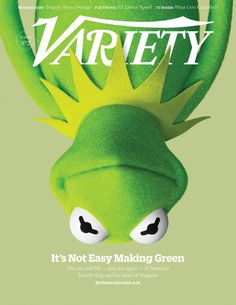 Variety magazine muppet cover