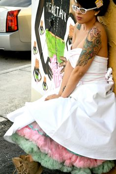 Rockabilly Wedding Dress.