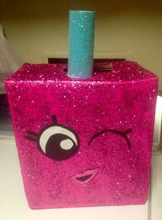 Polly Polish shopkins Valentine box