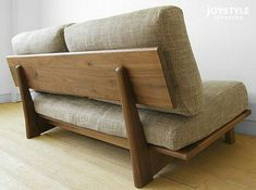 joystyle-interior: Three full cover ring sofa domestic production sofa woodenness sofa credit sofa net shops-limited original setting of 3 size walnuts materials walnut pure materials walnut tree wooden frame of in width Wood Sofa, Furniture Design, Diy Wood Projects Furniture, Diy Sofa, Sofa Design, Furniture, Home Furniture, Wooden Sofa Designs, Sofa Domestic