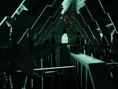 Work in progress without plans, welcome to Erebor part2 ! #3D #hobbit #architecture #peterjackson #visuarchstudio