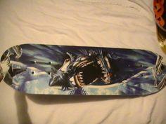 "28"" Double Kicktail Shark Design Skateboard*Complete!!"